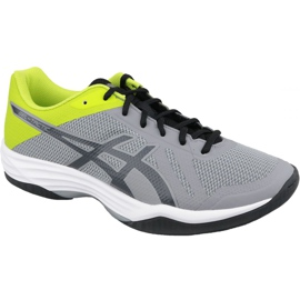 Zapatillas de voleibol Asics Gel-Tactic M B702N-9695 gris gris / plata