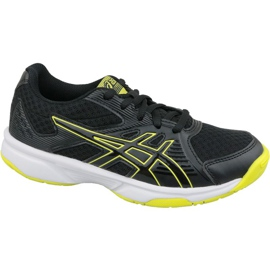 Zapatillas de voleibol Asics Upcourt 3 Gs Jr 1074A005-003 gris negro