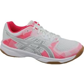 Zapatillas de voleibol Asics Gel-Tactic Gs Jr 1074A014-101 blanco gris
