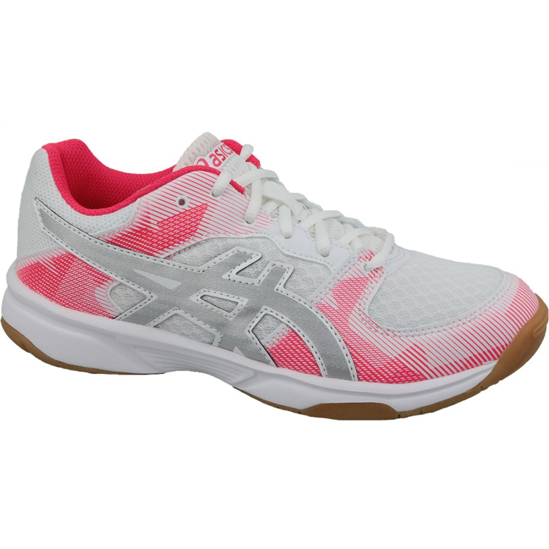 Zapatillas de voleibol Asics Gel-Tactic Gs Jr 1074A014-101 gris blanco