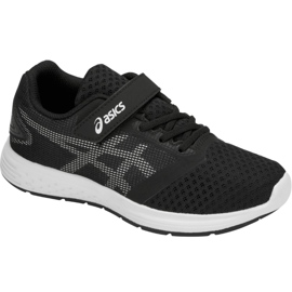 Negro Zapatillas de running Asics Patriot 10 Ps Jr 1014A026-004