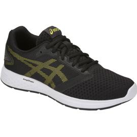Negro Zapatos Asics Patriot 10 Gs Jr 1014A025-002