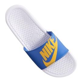 Azul Zapatillas Nike Benassi Jdi Print 631261-104