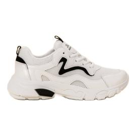 SHELOVET blanco Zapatos deportivos con cordones