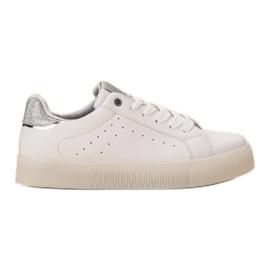 SHELOVET Zapatos deportivos blancos