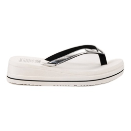 SHELOVET Chanclas blanco