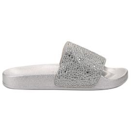 Evento gris Zapatillas De Mujer De Plata