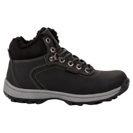 Ax Boxing negro Calzado de trekking aislado