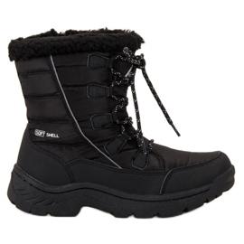 Arrigo Bello negro Botas de nieve caliente