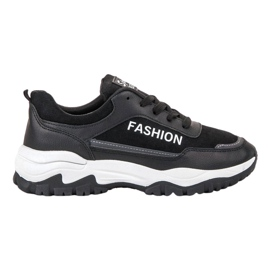 Ax Boxing negro Zapatos deportivos de moda