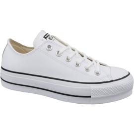 Blanco Converse Chuck Taylor All Star Lift Clean Ox W 561680C