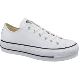 Blanco Converse Chuck Taylor All Star Lift Clean Ox W 561680C