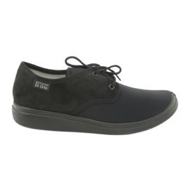 Negro Befado zapatos de mujer pu 990M001