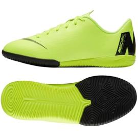 Nike Mercurial VaporX 12 Academy Gs Ic Jr AJ3101 701 verde zapatos