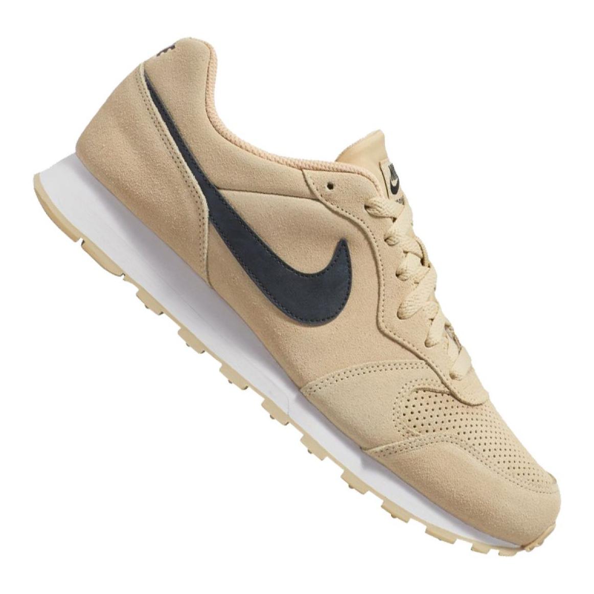 Zapatillas Nike Md Runner 2 Suede M AQ9211 700 marrón