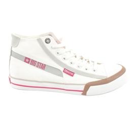 Zapatillas de hombre Big Star 174080 blanco
