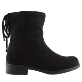 Zapatos de mujer negros 7378-PA Negro