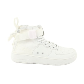 Big Star Zapatillas estrella grandes cordones 274648 blanco