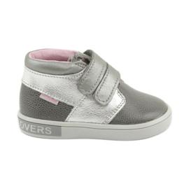 Zapatillas velcro Mazurek 1355 gris