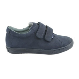 Marina Zapatillas niño Velcro Mazurek 268 azul marino