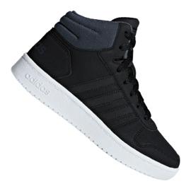 Negro Zapatillas Adidas Hoops Mid 2.0 K Jr F35797