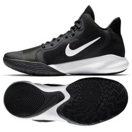 Nike Precision Iii M AQ7495 002 Calzado de baloncesto negro