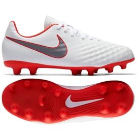 Nike Magista Obra 2 Club Fg Jr AH7314 107 blanco