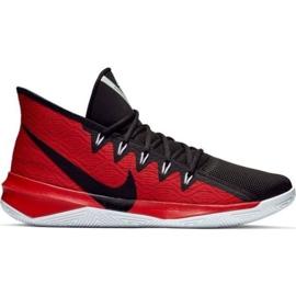 Nike Zoom Evidence Iii M AJ5904 001 Calzado negro y rojo negro rojo
