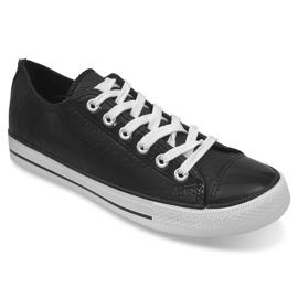 Zapatillas Sport Cuero Ydb Negro