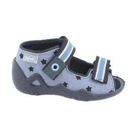 Zapatos befado azul para niños 250P079