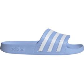 Azul Zapatillas adidas Adilette Aqua W EE7346