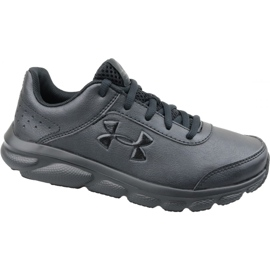 Zapatillas de running Under Armour Gs Assert 8 Jr 3022697-001 negro negro