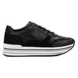 SHELOVET Zapatos deportivos negros