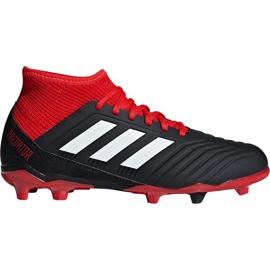 Zapatillas de fútbol Adidas Preadtor 18.3 Fg Jr DB2318 negro negro