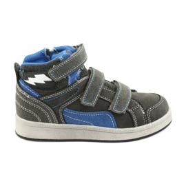 Zapatillas altas American Club ES27 gris
