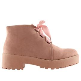 Botas para mujer rosa LL219 rosa