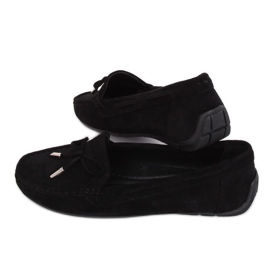 Negro Mocasines para mujer R812 Negro
