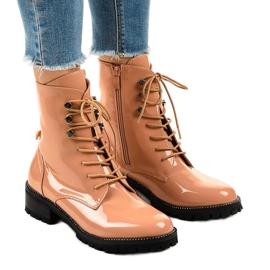 Botas altas de mujer rosa XW37278
