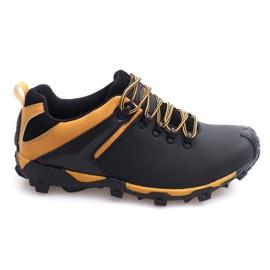 Botas de trekking Cuero Nat HLD911 Negro