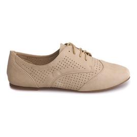 Marrón Zapatos calados Jazz Low 219 Beige