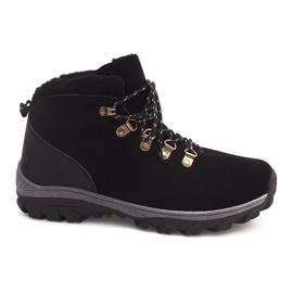Negro Botas de nieve aisladas 83B Black