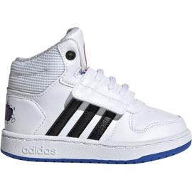 Blanco Zapatillas Adidas Hoops Mid 2.0 I Jr EE8551