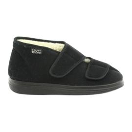 Negro Befado zapatos de hombre pu 986M011