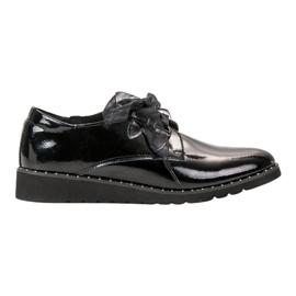 Filippo Zapatos lacados negros