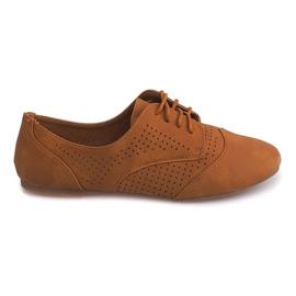 Zapatos calados Jazz Low 219 Camel marrón