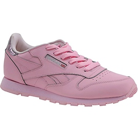 Zapatillas Reebok Classic Leather Metallic Jr BD5898 rosa