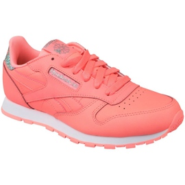 Zapatillas Reebok Classic Leather Jr BS8981 rosa