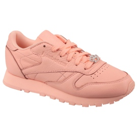 Zapatillas Reebok Classic Leather W BS7912 rosa