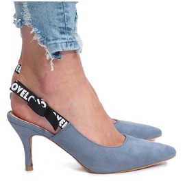 Sandalias azules Love Paris