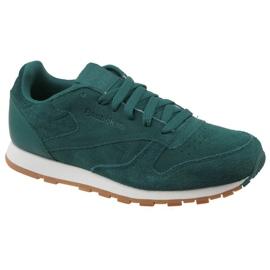 Zapatillas Reebok Cl Leather Sg JRCM9079 verde
